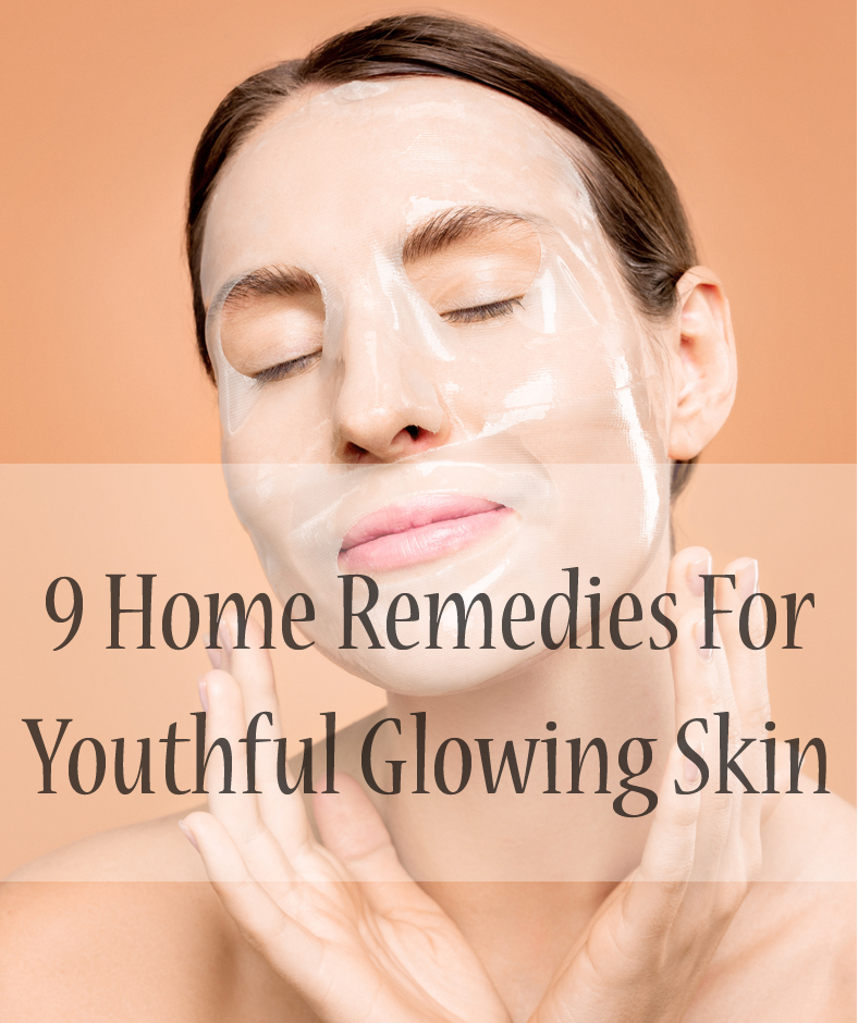 Home Remedies Glowing Skin